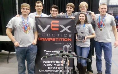 We, Robot: B'ville robotics team wins state tournament