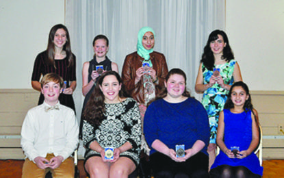 Optimists honor students