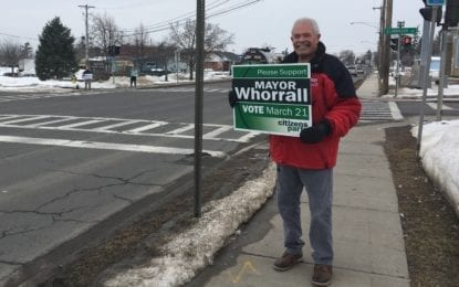 Whorrall holds on to Manlius mayoral seat by nearly 300 votes