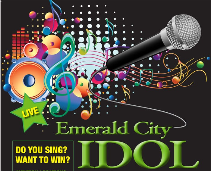 Emerald City Idol singing competition finals coming this weekend