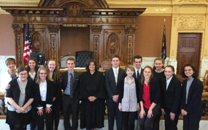 CHS Mock Trial team wins Onondaga County competition