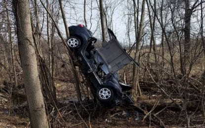 Vehicle accident in East Syracuse results in occupant extrication