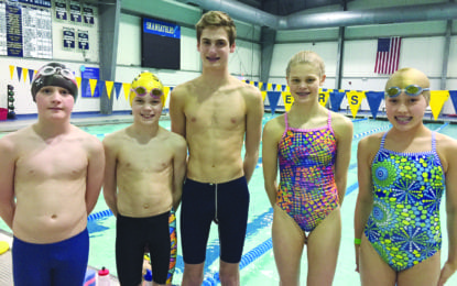 Lightning swimmers bring home multiple medals