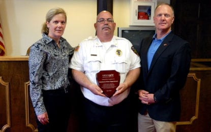 Cazenovia Police Department awarded for being first in state to complete online safety training program