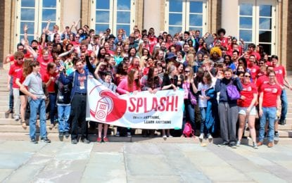 Splash! at Cornell to host middle-, high-school classes April 29