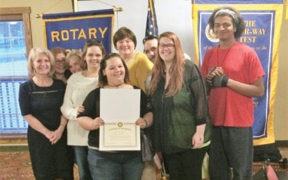 B'ville Rotary honors March Student of the Month