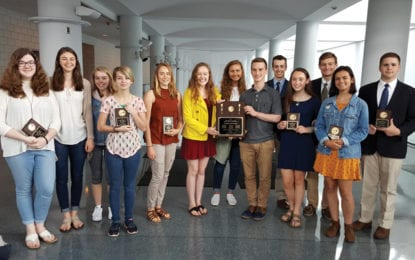 CHS Mock Trial team honored on Law Day