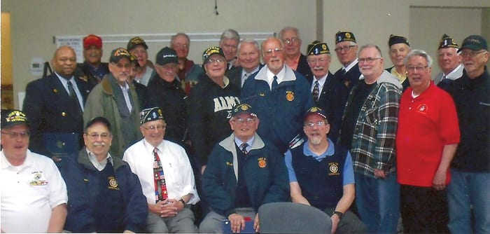 Local DAR chapter thanks Vietnam veterans with luncheon