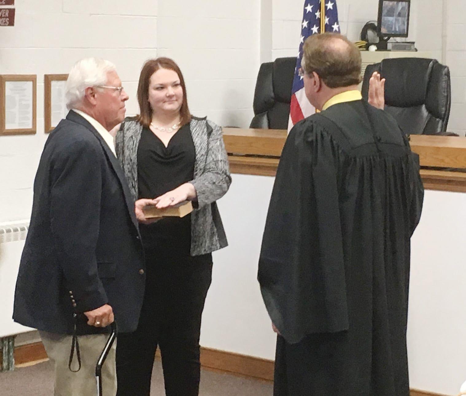Walsh sworn in as Cicero tax receiver