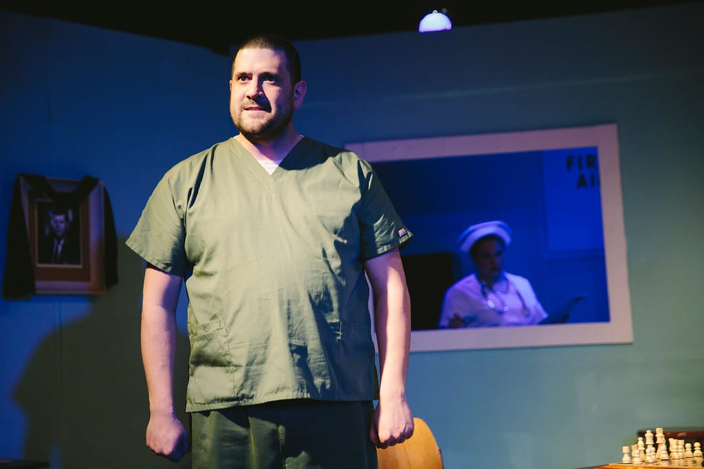 Theater Review: Iago institutionalized! Shakespeare's 'Othello' is updated at ShoppingTown's CNY Playhouse
