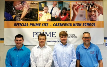 Three from Caz win engineering scholarships