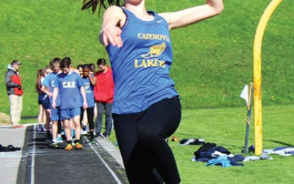 Cazenovia girls track remain undefeated
