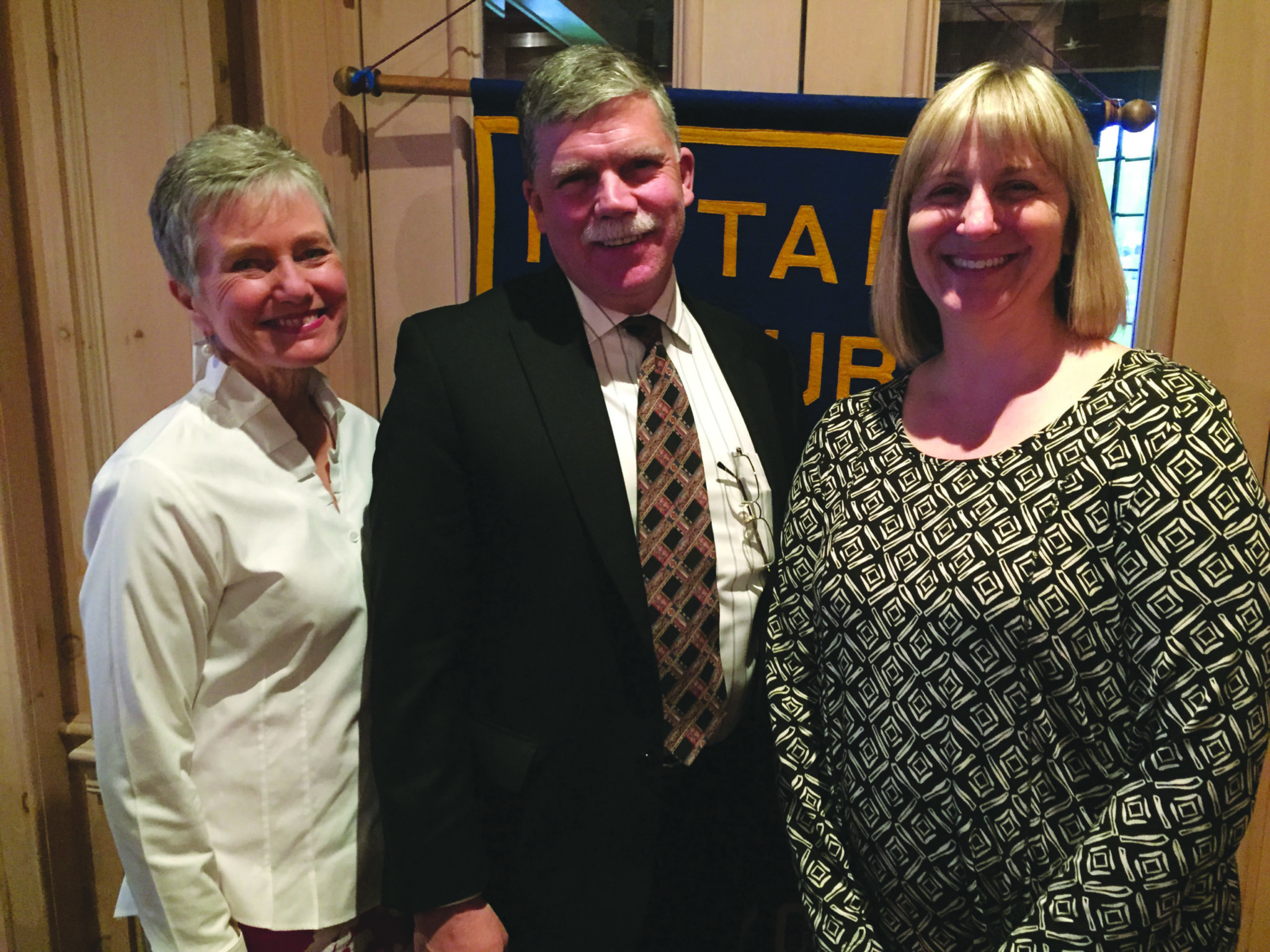 Education Foundation director speaks to Rotary