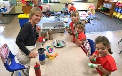 Bright Beginnings teacher retires after 16 years