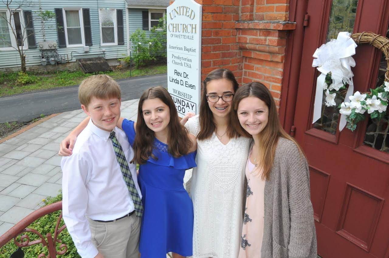 Latest class of 'Seekers' confirmed at United Church of Fayetteville