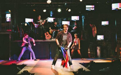 Theater Review: 'American Idiot' – CNY Playhouse's punk rock musical revels in revolution