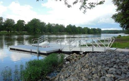 Mercer Park kayak launch now open