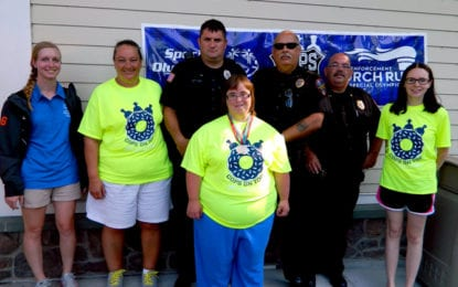 Caz cops hit goal, raise over $3K for Special Olympics