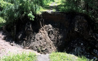 CPF to restore Gorge Trail washout this summer