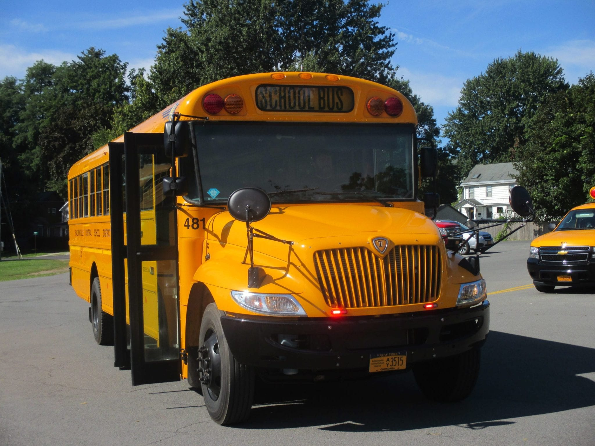 eagle news online back to school b ville buses add new warning lights