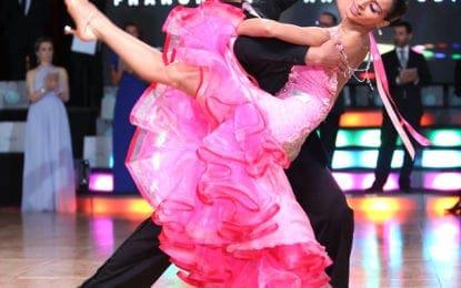 Fayetteville professional dancers take home ballroom dance medals
