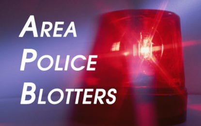 Area Police Blotters: Weeks of Oct. 20 to 29