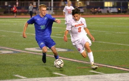 Boys soccer Warriors edge C-NS in overtime