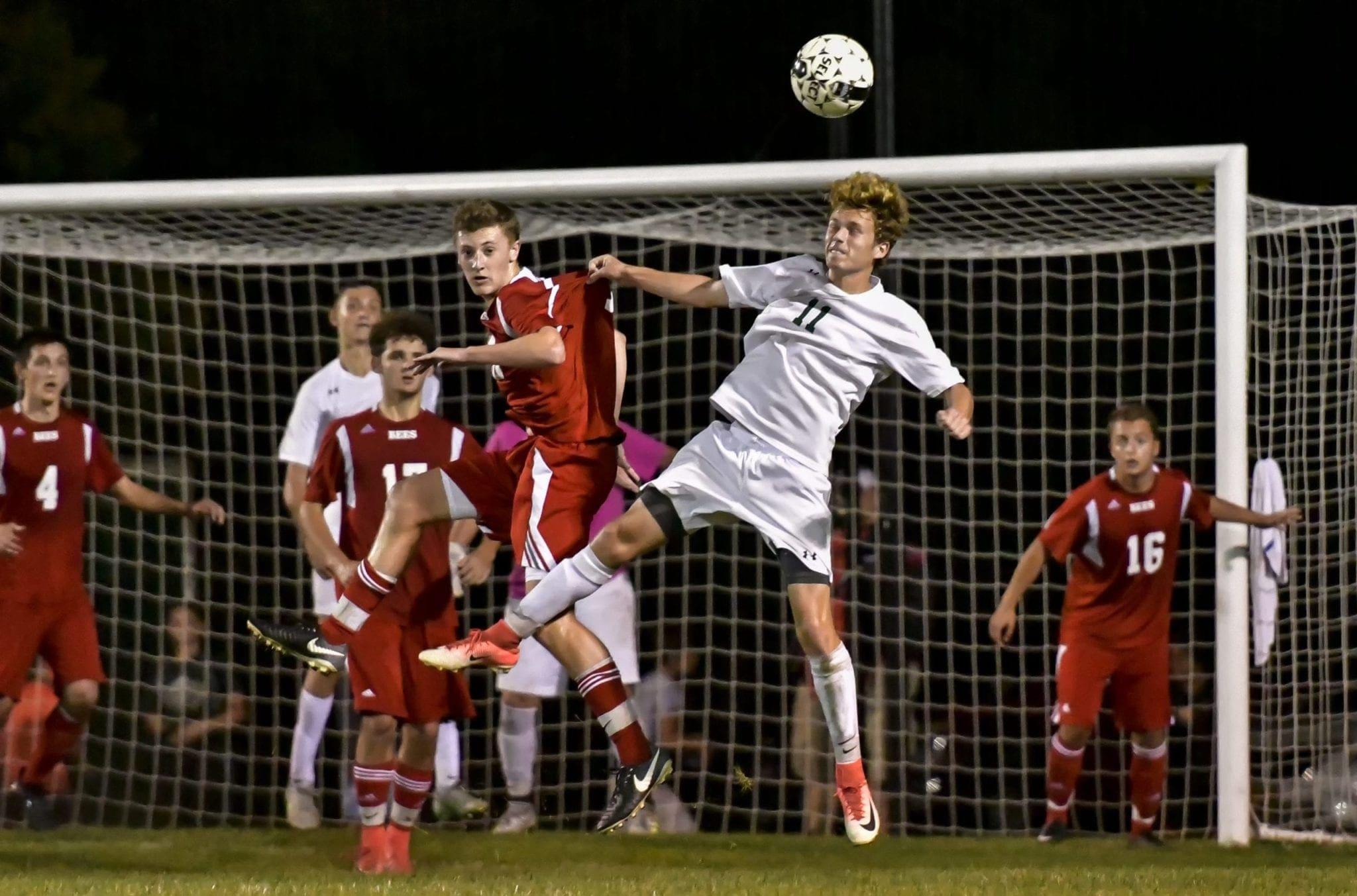 Soccer Hornets jump on B'ville, win 2-1