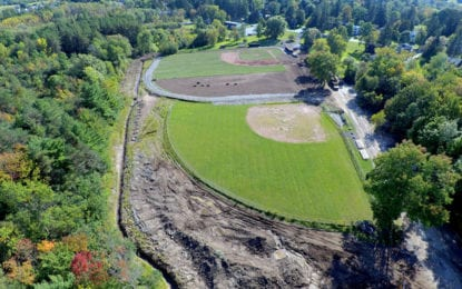 GOING GREEN: American Legion baseball field revamp nearly complete