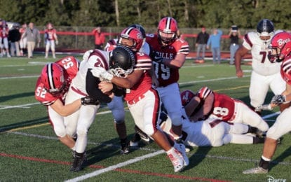 Football Bees blank Elmira, move to 2-0