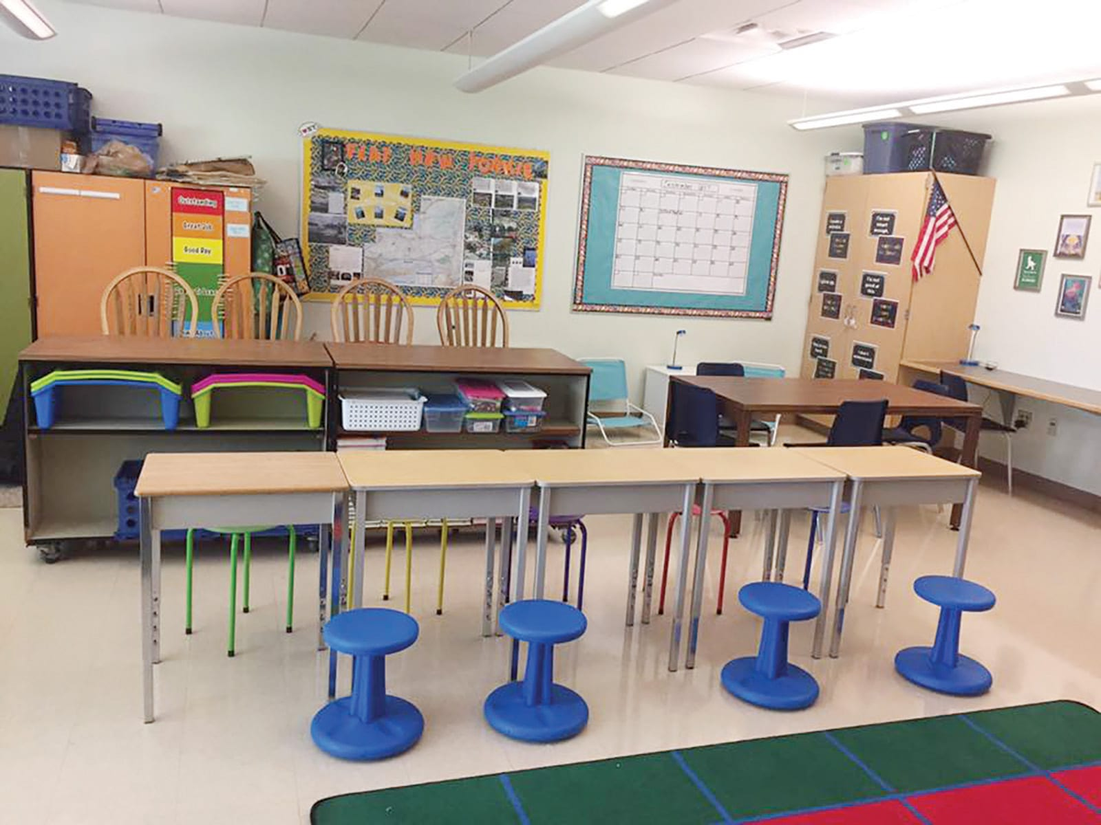Getting a good seat: Flexible seating offers students options beyond the desk