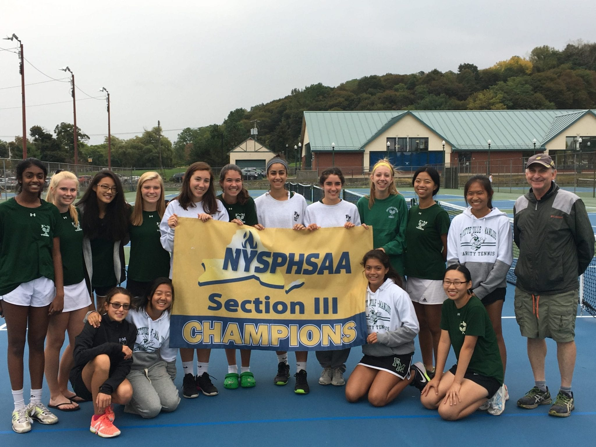 F-M, CBA are tennis sectional champs