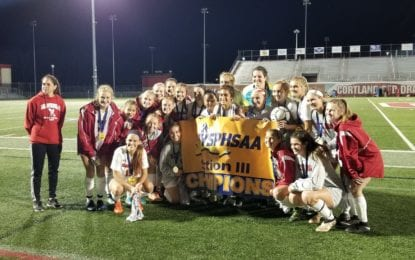 Girls soccer Bees roar to sectional AA title