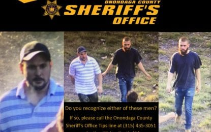 Sheriff's office seeks assistance identifying two men