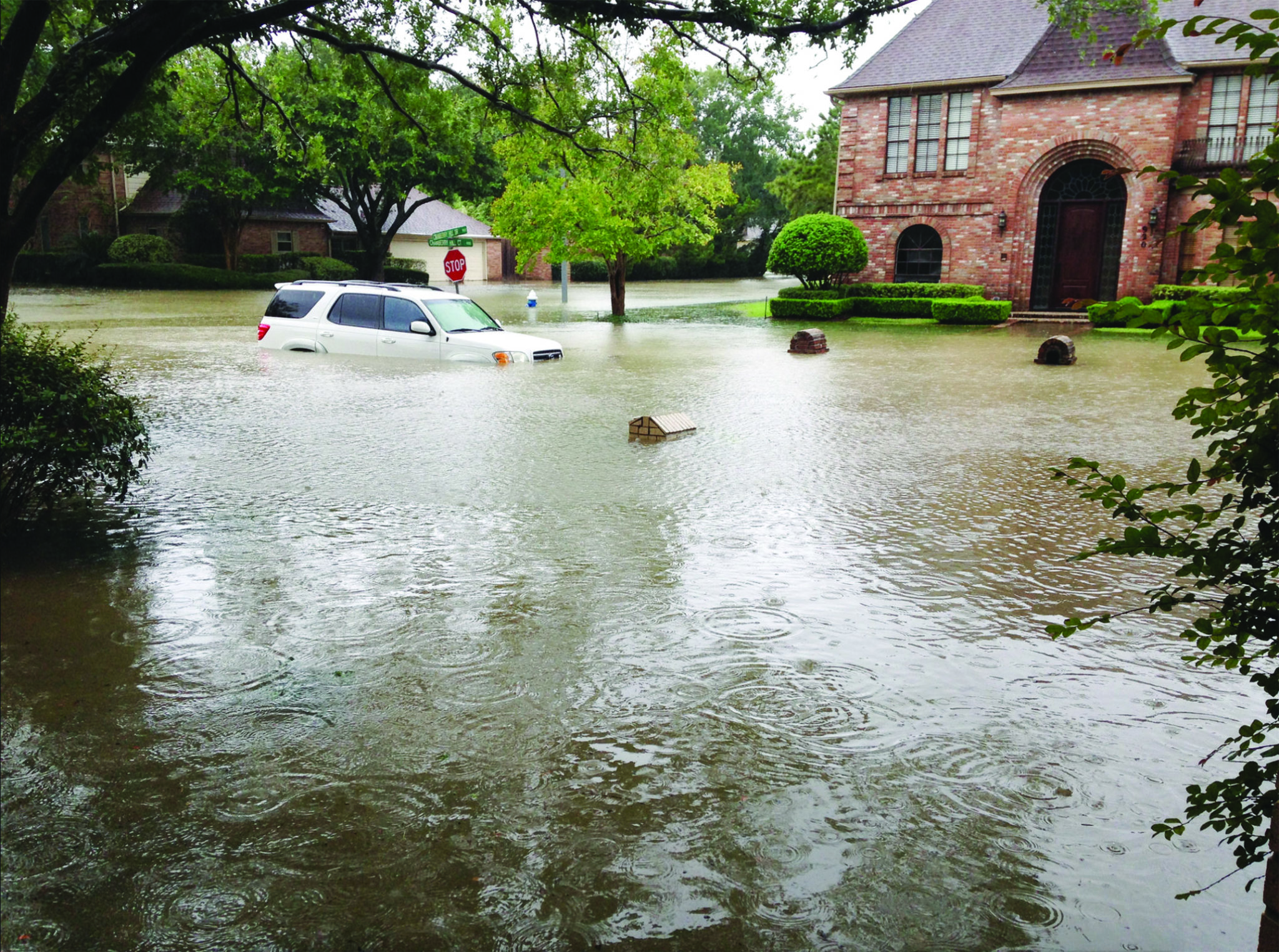 In Harvey's wake: L'pool natives digging out after Houston hurricane