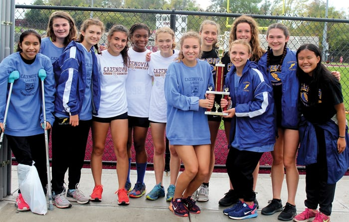 Cross country girls post three victories