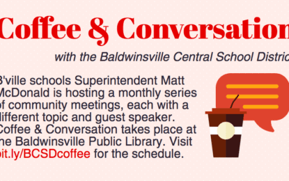Coffee & Conversation, Oct. 26: Tech talk