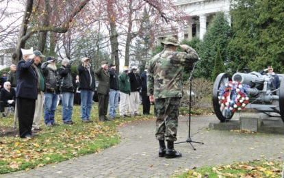 Veterans Day recognition ceremony starts at 11 a.m. on Nov. 11