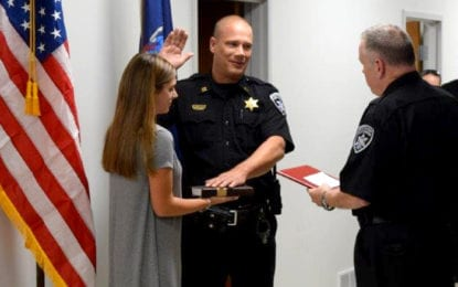 Sheriff's office veteran promoted to captain