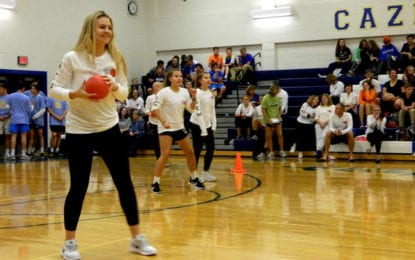 High school dodgeball tourney raises hundreds for local families