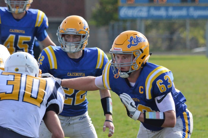 Cazenovia football stops Central Valley
