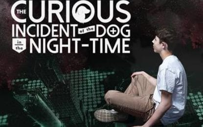 ARISE, Syracuse Stage partner for 'The Curious Incident of The Dog In The Night-Time'