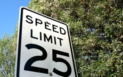 Nickerson Street speed limit reduced to 25 mph