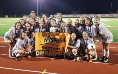 Warriors repeat as girls soccer sectional champs