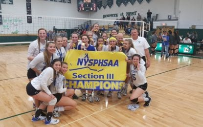 Volleyball Lakers are sectional champs again