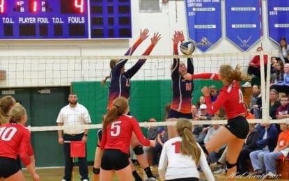 Girls volleyball Warriors drop AA final to B'ville