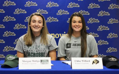 Maliga, Willard sign letters of intent for colleges
