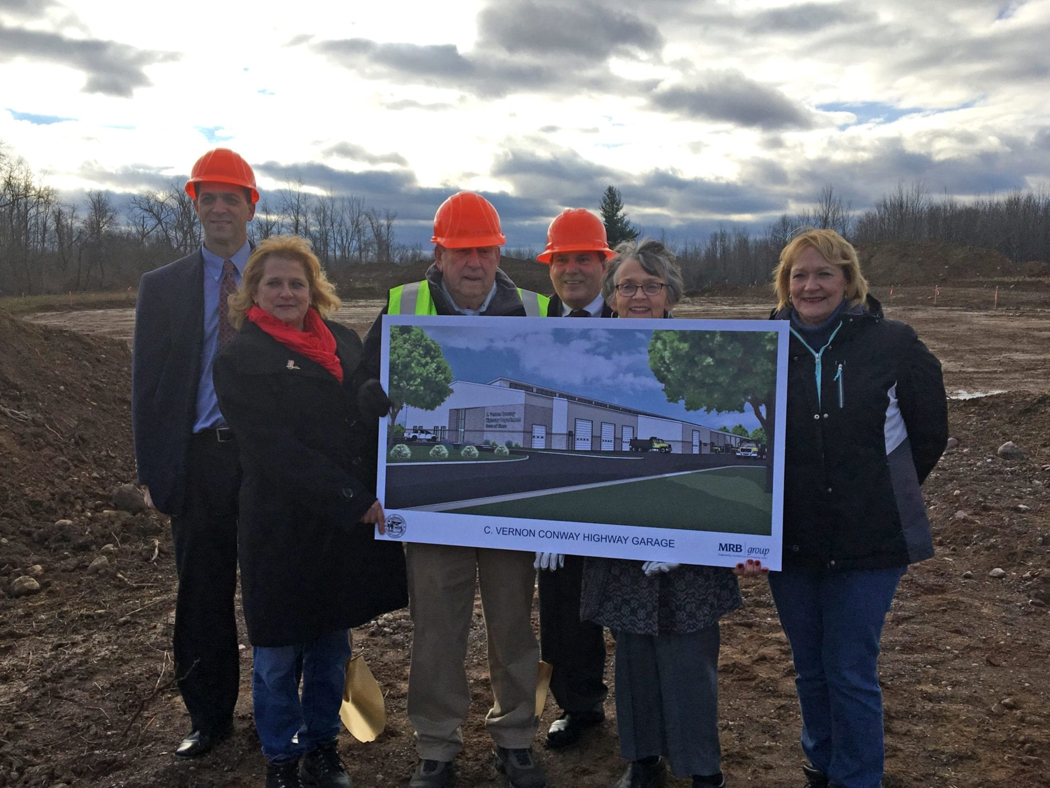 Cicero breaks ground on C. Vernon Conway Highway Department Facility