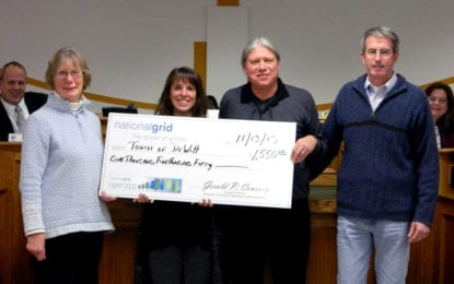 DeWitt, National Grid celebrate the trees
