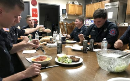 EAST SYRACUSE: Award-winning bunk-in program attracts firemen from across New York state